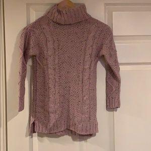 Girls Turtleneck long sweater